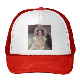 Mary Cassatt: Margot in White Mesh Hat