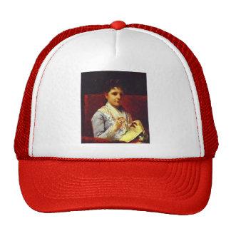 Mary Cassatt- Mary Ellison Embroidering Trucker Hat