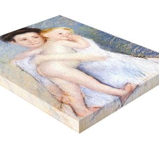 Mary Cassatt: Maternal Tenderness Canvas Prints