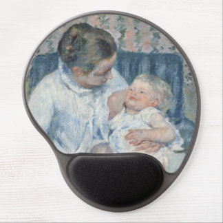 Mary Cassatt Mother About to Wash Her Sleepy Child Gel Mouse Pad
