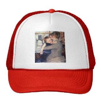 Mary Cassatt- Mother And Child Hat