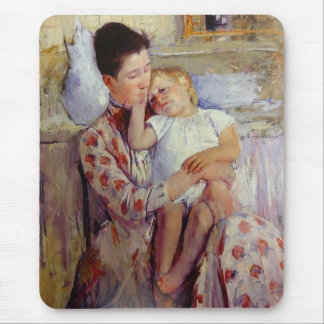 Mary Cassatt Mother and Child Mouse Pad