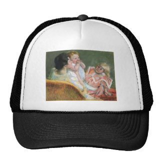 Mary Cassatt- Mother and Children Hats