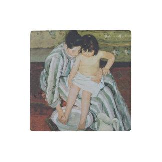 Mary Cassatt Mother Child Art Painting Stone Magnet