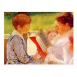 Mary Cassatt- Mrs Cassatt Reading to Grandchildren Post Card