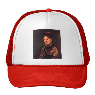 Mary Cassatt: Mrs. Robert Simpson Cassatt Hat