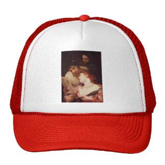 Mary Cassatt- Musical Party Mesh Hats