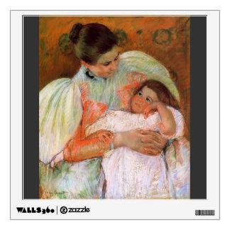 Mary Cassatt- Nurse and Child Wall Stickers