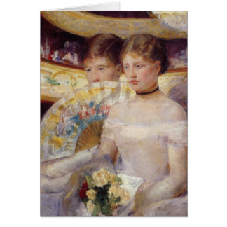 Mary Cassatt Painting Card