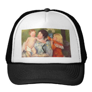 Mary Cassatt Painting Hats