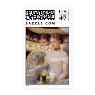 Mary Cassatt Painting Postage