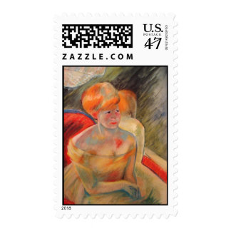 Mary Cassatt Painting Postage