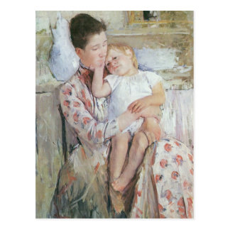 Mary Cassatt Painting Postcard