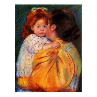 Mary Cassatt Painting Postcard