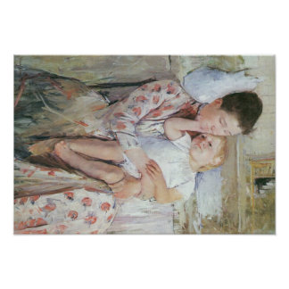 Mary Cassatt Painting Poster