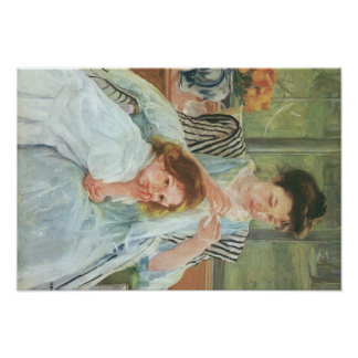 Mary Cassatt Painting Print
