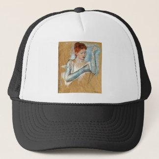 Mary Cassatt Painting Trucker Hat