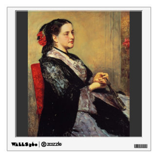 Mary Cassatt- Portrait of a Lady of Seville Room Graphic