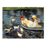 Mary Cassatt. Postal del verano
