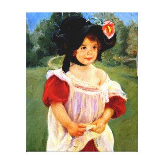 Mary Cassatt - primavera, Margarita que se coloca Lona Envuelta Para Galerías