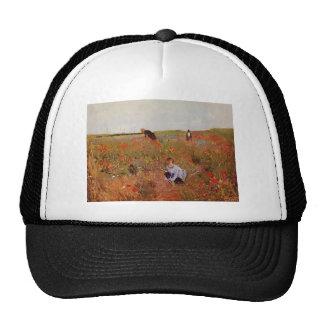 Mary Cassatt: Red poppies Trucker Hats