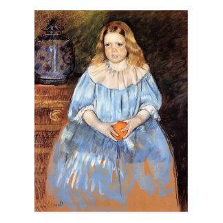 Mary Cassatt: Retrato de Margaret Milligan Sloan Tarjetas Postales