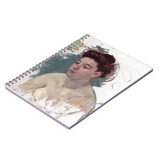 Mary Cassatt- Sketch of Antoinette (no.1) Note Book