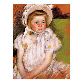 Mary Cassatt- Somone in a White Bonnet Post Card