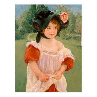 "Mary Cassatt ""Spring: Margot Standing in a Garden"" Postcard"