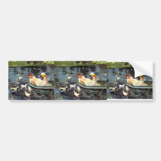 Mary Cassatt- Summertime Car Bumper Sticker