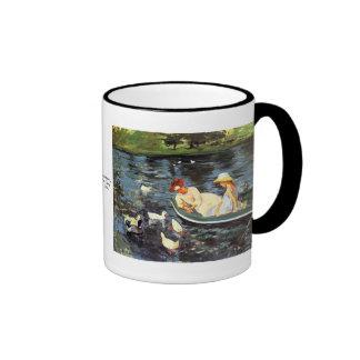 Mary Cassatt Summertime Ringer Mug