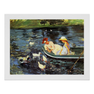Mary Cassatt Summertime Two Poster