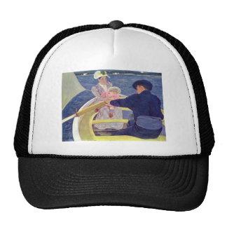Mary Cassatt- The Boating Party Mesh Hats