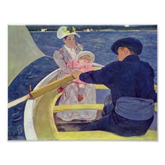 Mary Cassatt- The Boating Party Posters