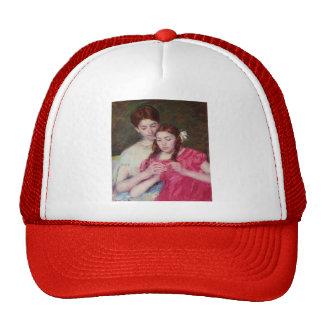 Mary Cassatt- The Chrochet Lesson Trucker Hat