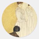 Mary Cassatt: The Fitting Stickers