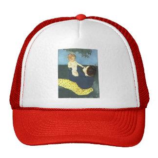 Mary Cassatt: The Horse Chestnut Mesh Hats