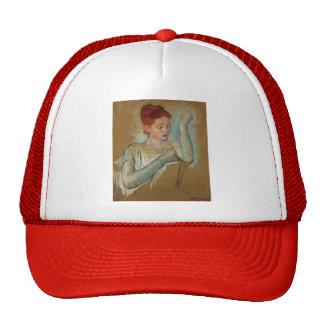 Mary Cassatt- The Long Gloves Hats