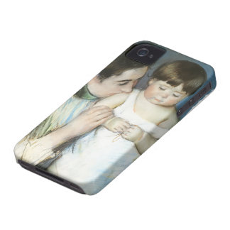 Mary Cassatt- Young Thomas And His Mother Case-Mate iPhone 4 Cases
