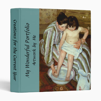 Mary Cassatt's The Child's Bath (circa 1892) Binder