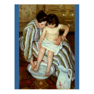 Mary Cassatt's The Child's Bath (circa 1892) Postcard
