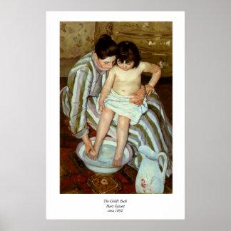 Mary Cassatt's The Child's Bath (circa 1892) Print