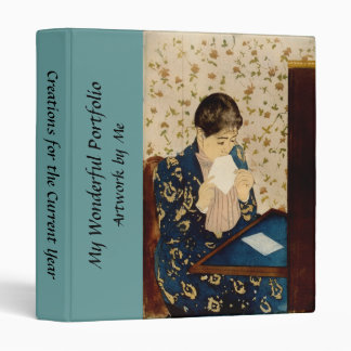 Mary Cassatt's The Letter (circa 1891) Binder