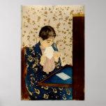Mary Cassatt's The Letter (circa 1891) Print
