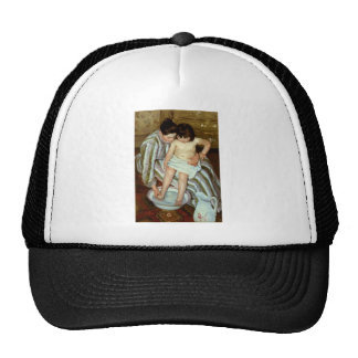 Mary Cassatt's The s Bath (circa 1892) Trucker Hat