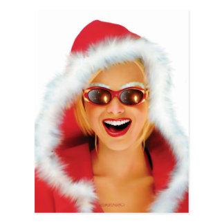 """""""Mary Christmas"""" Postcard"""