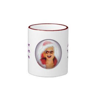 """""""Mary Christmas"""" Ringer Coffee Mug"""
