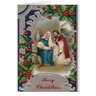 Mary ChristMass Card
