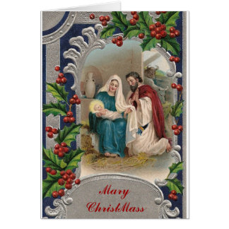 Mary ChristMass Greeting Cards