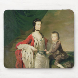 Mary, Countess of Shaftsbury and her Son Mousepads